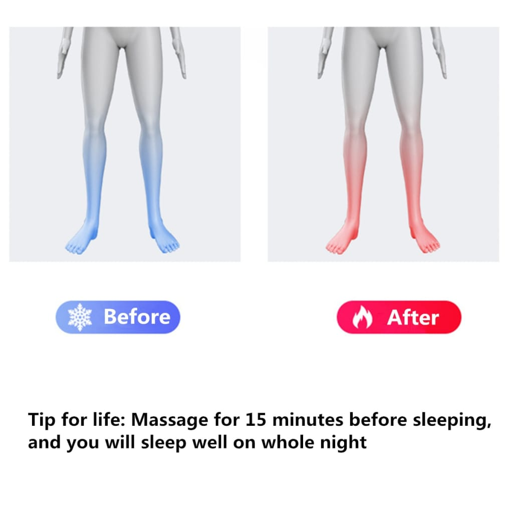 Foot Body Massager Electric Heating