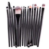 MAANGE Pro 15Pcs/Kit Makeup Brushes Set Eye Shadow Brow Eyeliner