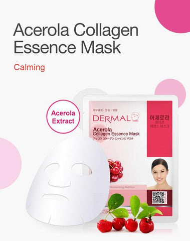 DERMAL COLLAGEN ESSENCE MASK PACK  - Acerola - Dermal Australia