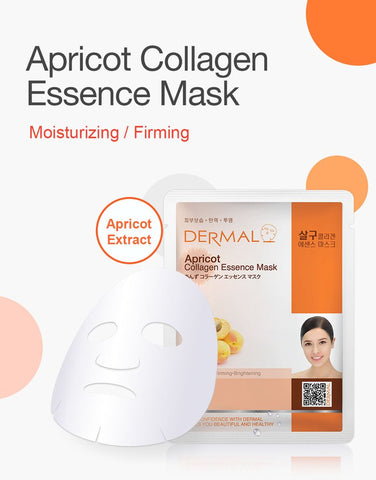 DERMAL COLLAGEN ESSENCE MASK PACK  - Apricot - Dermal Australia