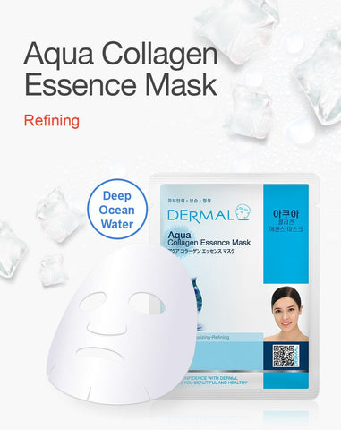 DERMAL COLLAGEN ESSENCE MASK PACK  - Aqua - Dermal Australia