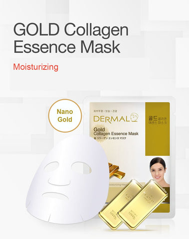 DERMAL COLLAGEN ESSENCE MASK PACK  - Gold - Dermal Australia