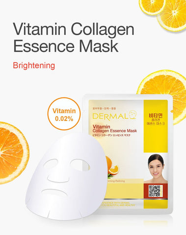 DERMAL COLLAGEN ESSENCE MASK PACK  - Vitamin - Dermal Australia