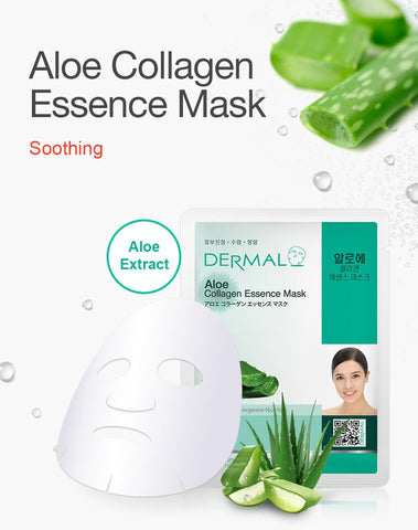 DERMAL COLLAGEN ESSENCE MASK PACK  - Aloe - Dermal Australia
