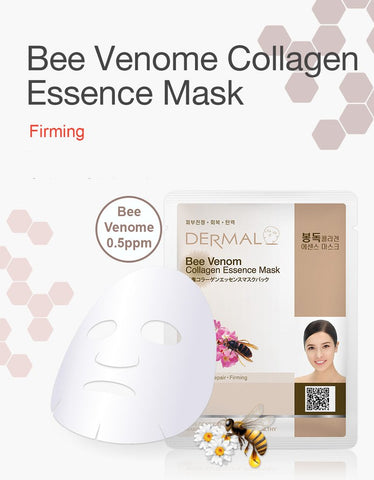 DERMAL COLLAGEN ESSENCE MASK PACK  - Bee Venom - Dermal Australia