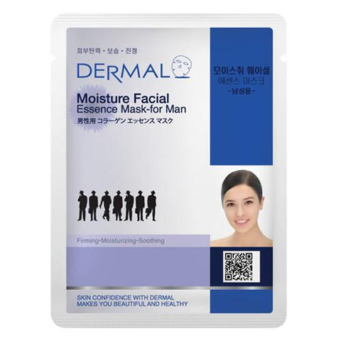DERMAL COLLAGEN ESSENCE MASK PACK  - Moisture Facial for man - Dermal Australia