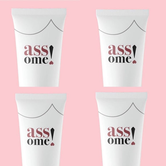 4 x Assome! Ultrasonic Absorption Gel (4x100ml) Four Month Therapy