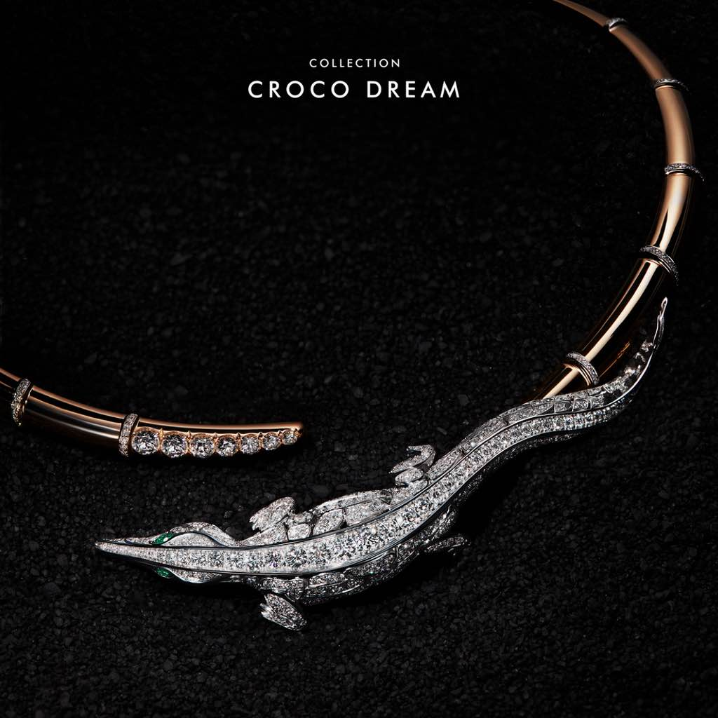 CROCO DREAM Crocodile Choker