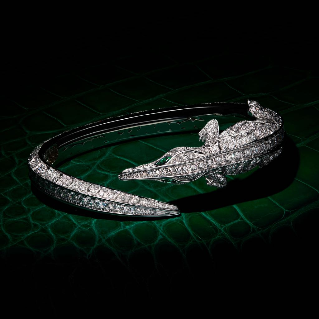 CROCO DREAM CROCODILE DIAMOND BRACELET