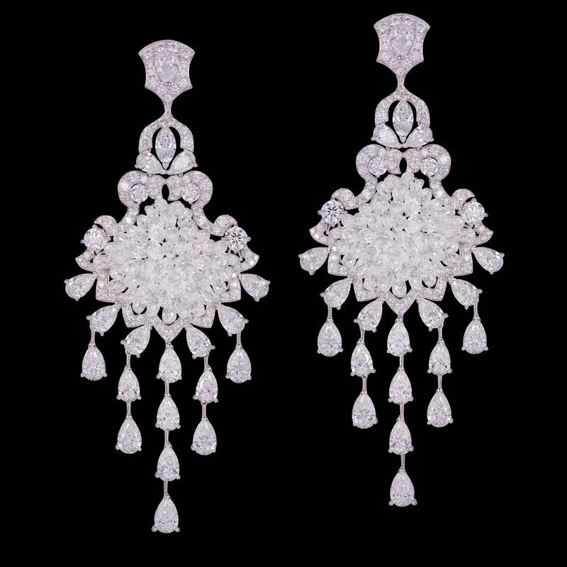 CLASSIC DIAMOND BRIOLETTE EARRINGS