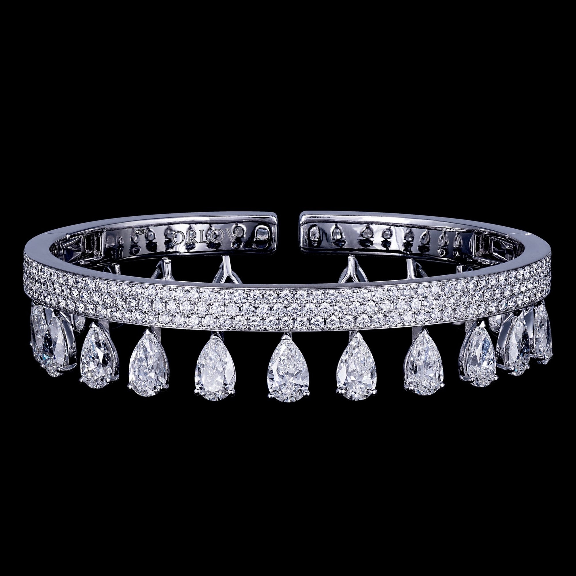 ORLOV SIMPLICITY bracelet set with diamonds
