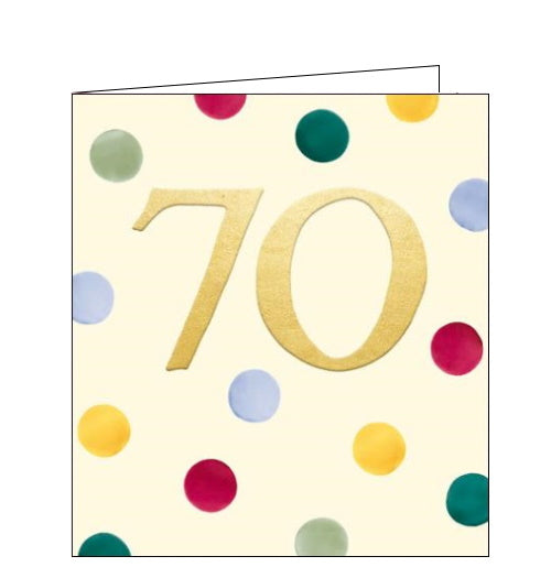 70th and 75th Birthday cards