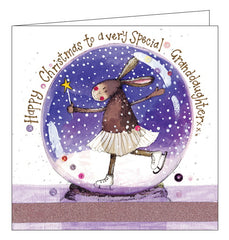 Alex Clark granddaughter christmas card nickery nook