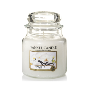 Yankee Candle medium jar Vanilla was £19.99 now £15.99