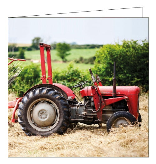 Abacus BBC Countryfile  Massey Ferguson Tractor blank card