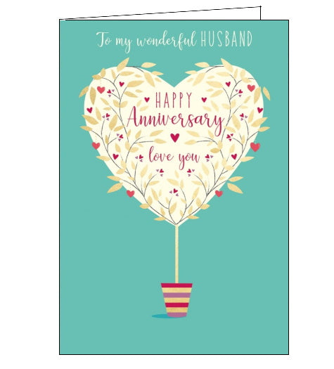 Abacus to my wonderful husband on our anniversary card Nickery Nook