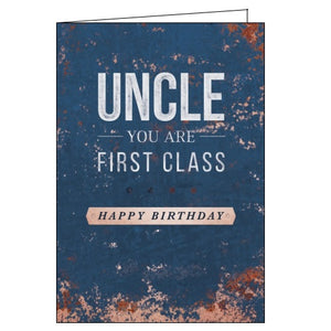 Abacus uncle birthday card Nickery Nook