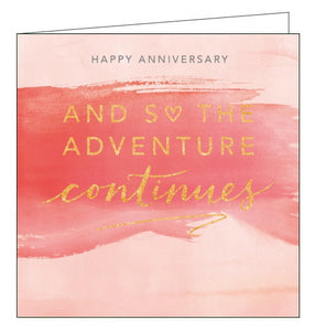 Abacus adventure anniversary card