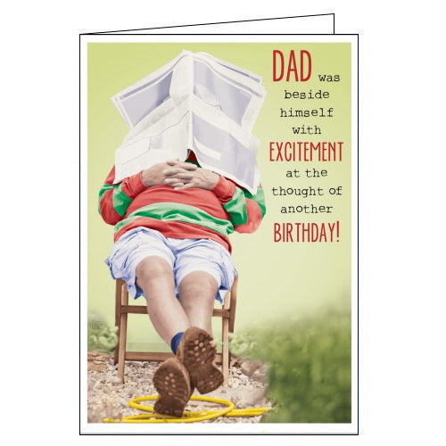 Abacus funny dad birthday card