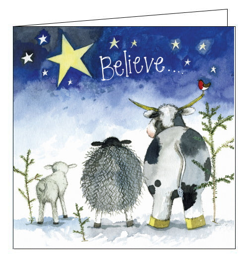 Believe- Alex Clark Christmas Card