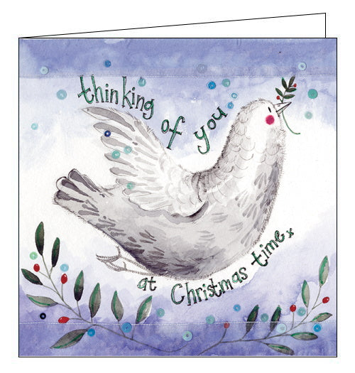 Thinking of you at Christmas Time - Alex Clark Christmas Card