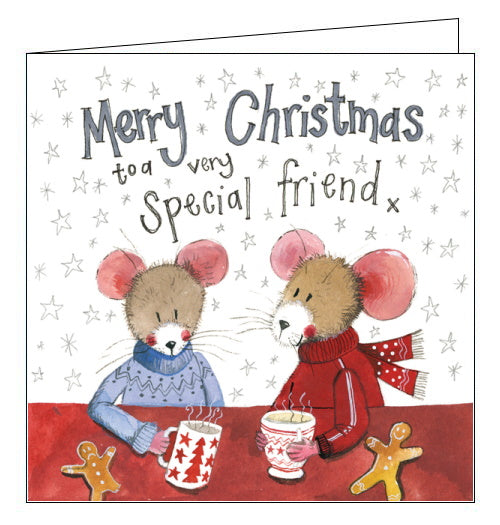 Merry Christmas to a Very Special Friend - Alex Clark Christmas Card