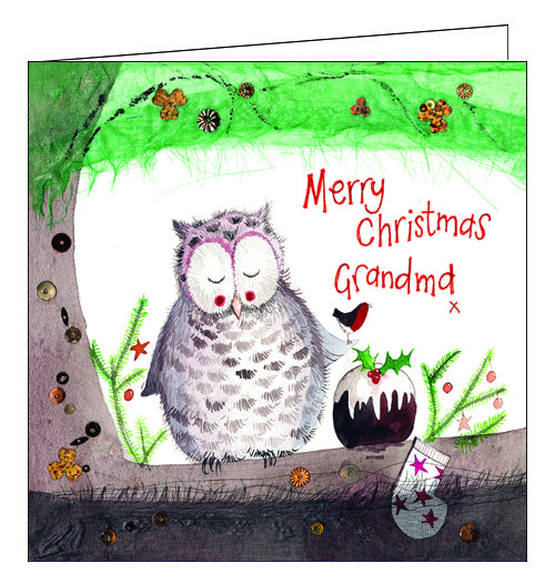 Alex Clark Christmas card for grandma