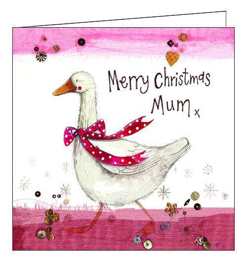 Alex Clark Christmas card for mum