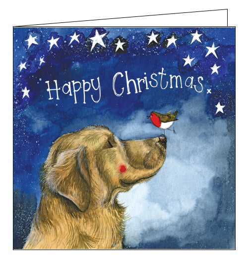 Happy Christmas- Alex Clark Christmas Card