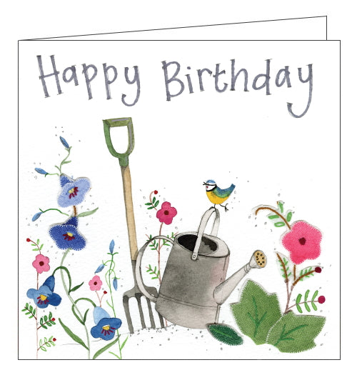Alex Clark birthday card gardening birthday card