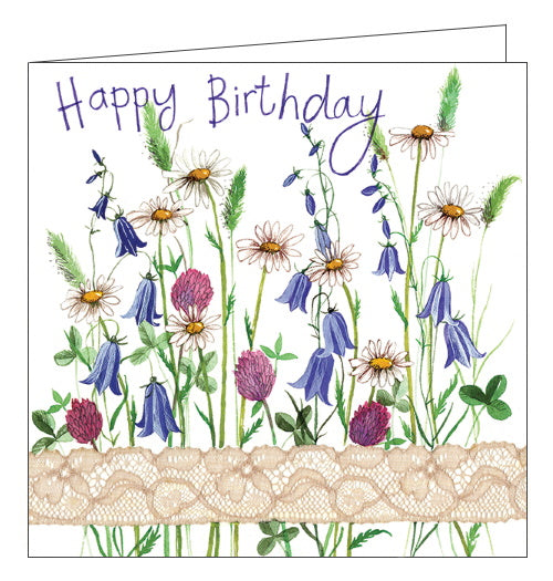 Alex Clark cards country flowers birthday card