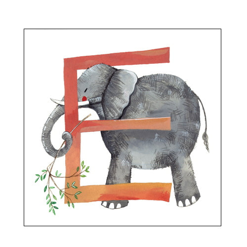 Alex Clark e elephant alphabet tile