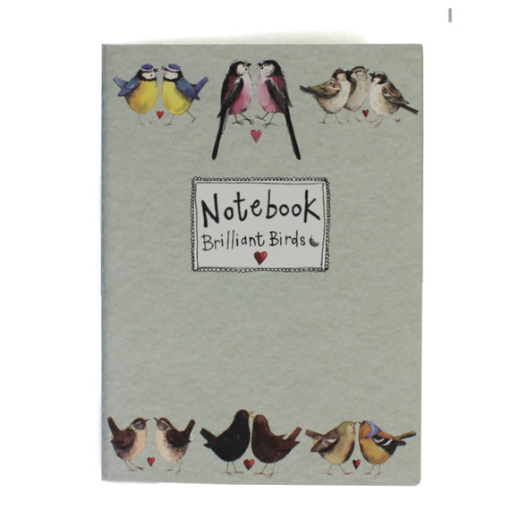 Alex Clark soft backed notebook brilliant birds