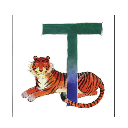 Alex Clark t tiger alphabet tile