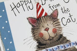 Alex Clark Happy Birthday from the cat Little Sprinkles card Nickery Nook