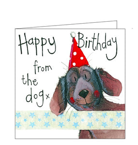 Alex Clark Little Sparkles Happy Birthday from the dog Nickery Nook