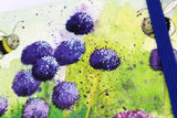 Alex Clark a6 little chunky notebook bees and alliums