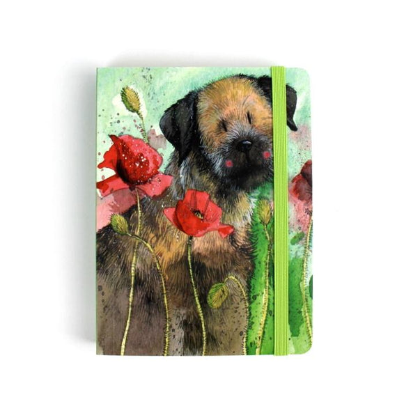 Alex Clark a6 little chunky notebook border terrier 1