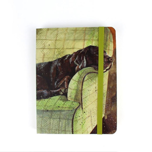 Alex Clark a6 little chunky notebook buddy the labrador