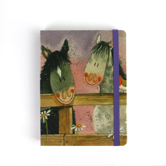 Alex Clark a6 little chunky notebook horse whisper