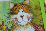 Alex Clark a6 little chunky notebook toffee cat