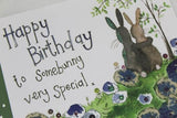 Alex Clark for her Happy Birthday to somebunny very special Happy Birthday card Nickery Nook