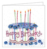 Alex Clark for her cake sweet treats floral for her Happy Birthday card Nickery Nook