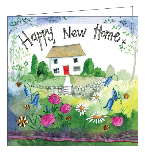 Alex Clark happy new home congratulations new house card country cottage Nickery Nook