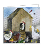 Alex Clark hen house chickens chicken countryside farming Nickery Nook
