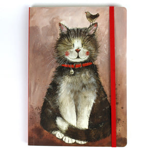 Alex Clark klaus the cat notebook