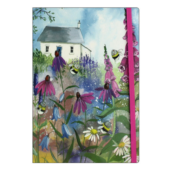 Alex Clark notebook bee garden
