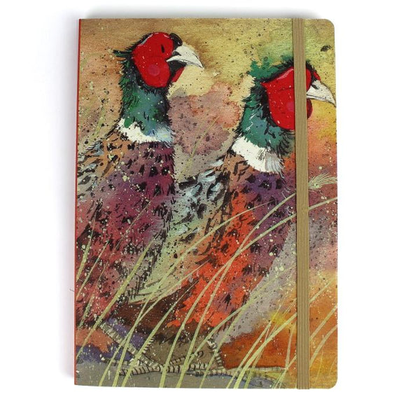 Alex Clark pheasant notebook