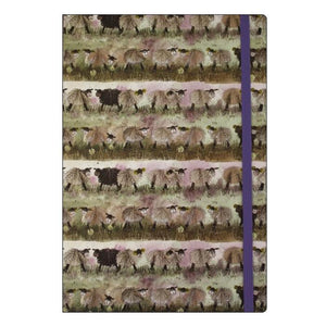 Alex Clark Splendid Sheep A5 notebook large chunky notebook Nickery Nook