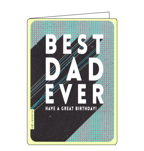 Art File best dad ever birthday card
